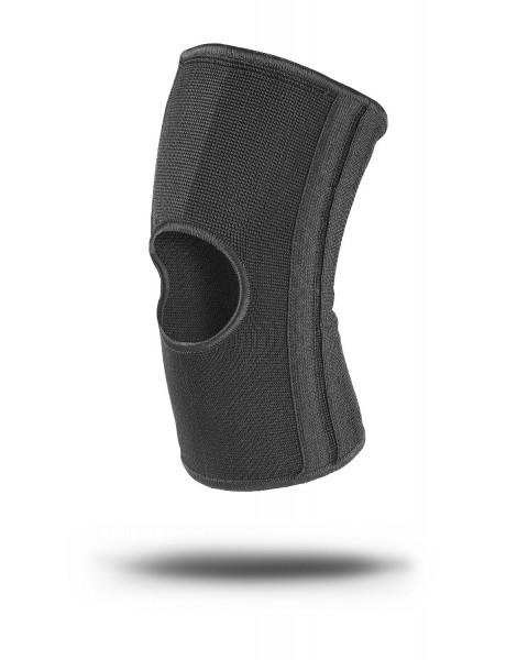 Elastische Knie-Bandage schwarz