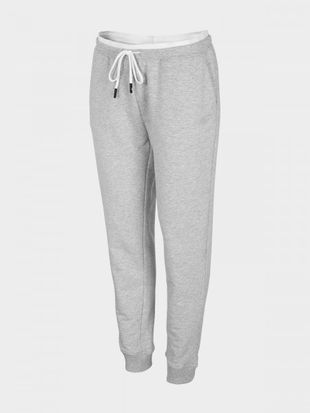 4F Damen Jogginghose Fides Cold Light Grey Melange