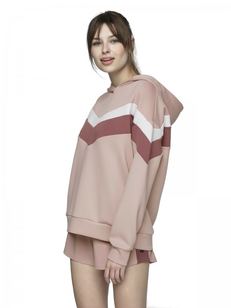 4F Damen Sweatshirt Samira Light Pink