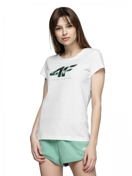 4F Damen T-Shirt Sheila White