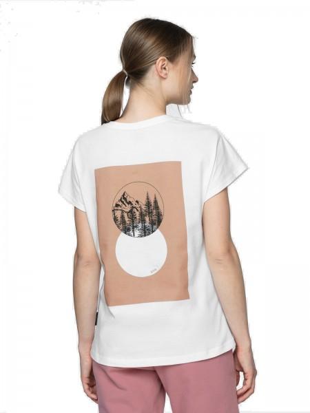 Outhorn Damen T-Shirt TSD611A White