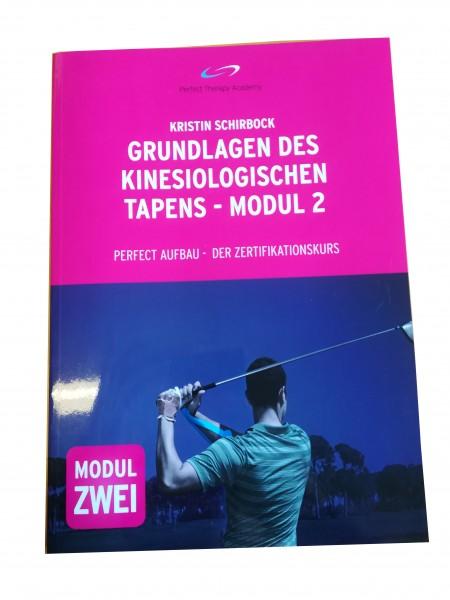 Lehrbuch: Kinesio-Tape Therapie Modul 2 Zertifikat