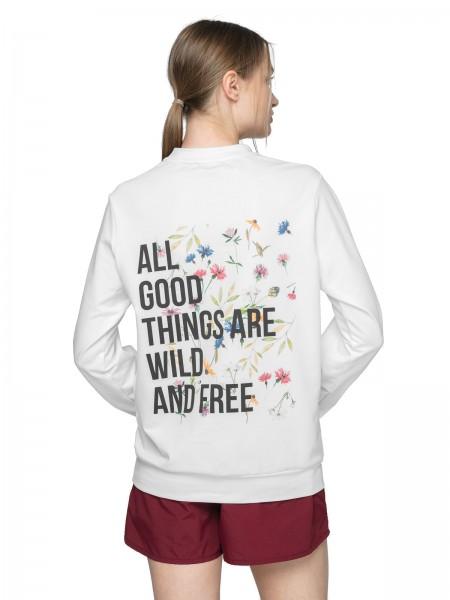 Outhorn Damen Sweatshirt BLD625 White
