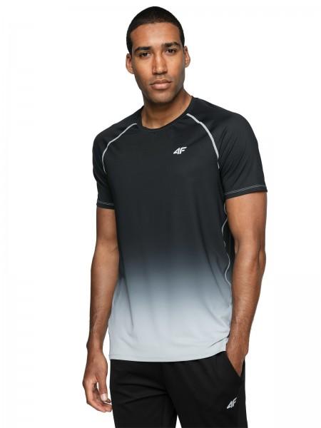 4F Herren Funktions-T-Shirt Fedja Deep Black