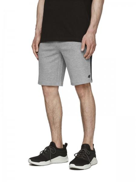 4F Herren Shorts Santino Grey Melange