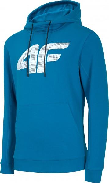4F Kapuzenhoodie Fredrik Cobalt