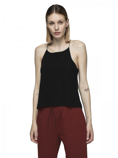Outhorn Damen Top TSD604 Deep Black