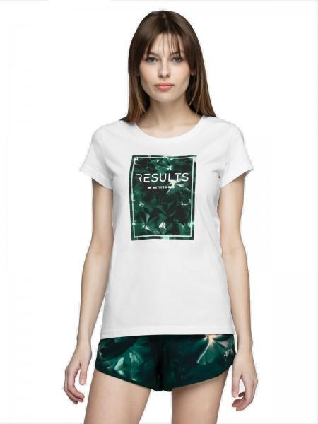 4F Damen T-Shirt Scarlett White
