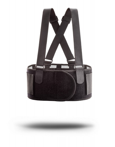 Mueller Adjustable Back Brace with Suspenders