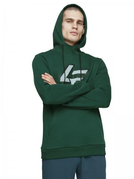 4F Herren Sweatshirt Steffen Dark Green