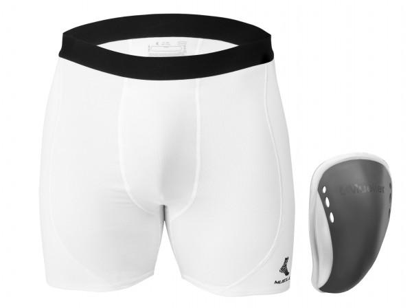 Mueller FlexShield with Support Shorts
