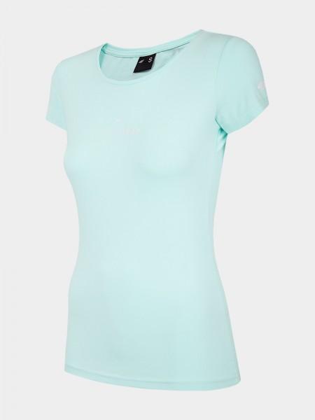 4F Damen T-Shirt Fleur Mint