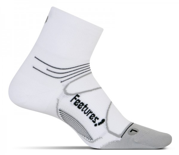Feetures Elite Ultra Light Quarter white/black