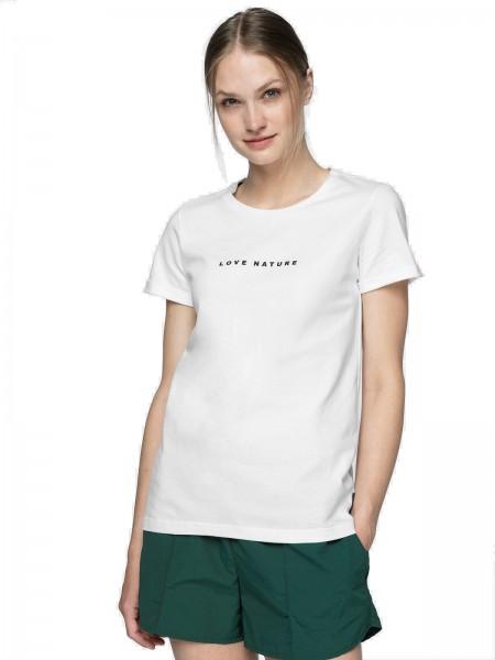 Outhorn Damen T-Shirt TSD610A White