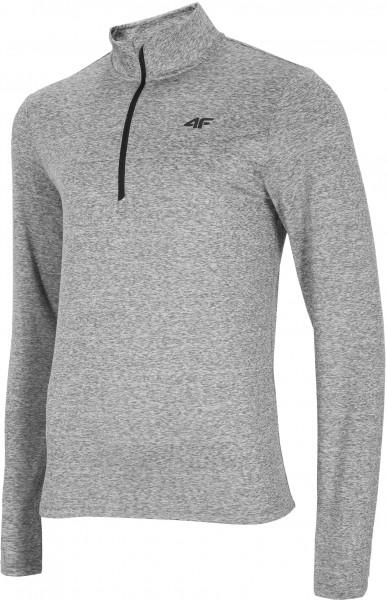 4F Herren Funktions Shirt Houston Cold Light Grey Melange