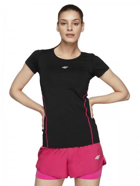 4F Damen Funktions-T-Shirt Fe Deep Black