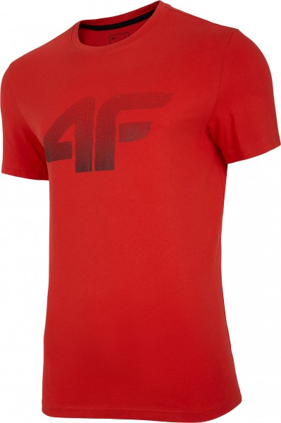 4F Herren T-Shirt Flemming Red