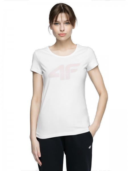 4F Damen T-Shirt Fria White