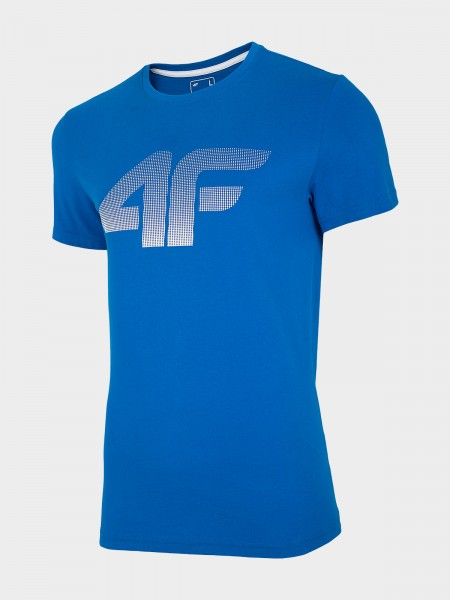4F Herren T-Shirt Flemming Cobalt