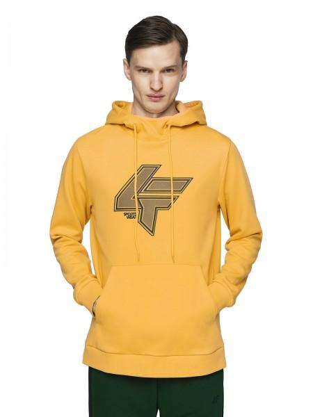 4F Herren Sweatshirt Steffen Light Lemon