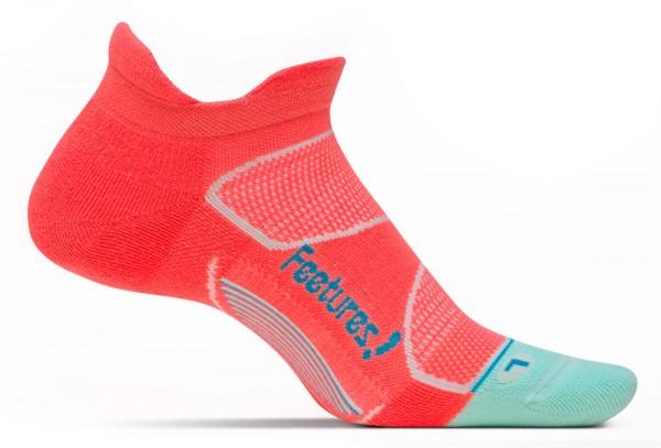 Feetures Elite Max Cushion No Show Tab Jurassic/Blue Lagoon