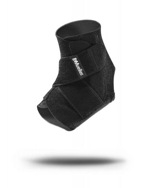 Einstellbarer Fußgelenkschutz schwarz Unigröße