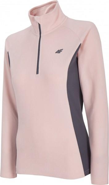 4F Damen Fleece Funktions Shirt Feelija Light Pink