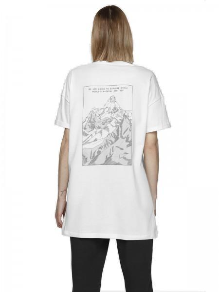 Outhorn Damen T-Shirt TSD625 White