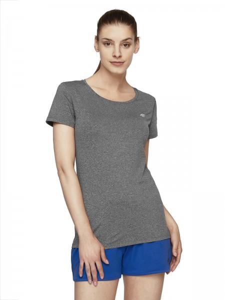 4F Damen Funktions-T-Shirt Theresia Dark Grey Melange