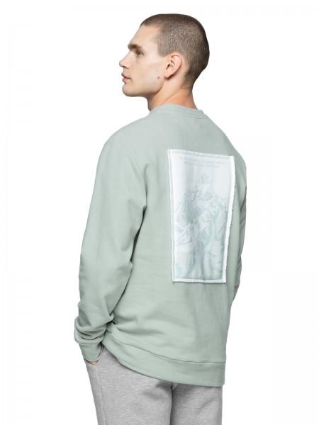 Outhorn Herren Sweatshirt BLM620 Aqua
