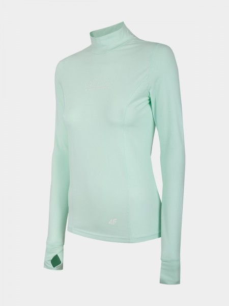 4F Damen Langarmshirt Filomena Mint