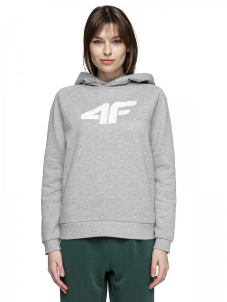 4F Damen Sweatshirt Samuela Cold Light Grey Melange