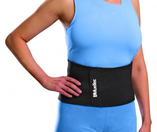 Neopren Rückenwärmer schwarz - Universalgröße