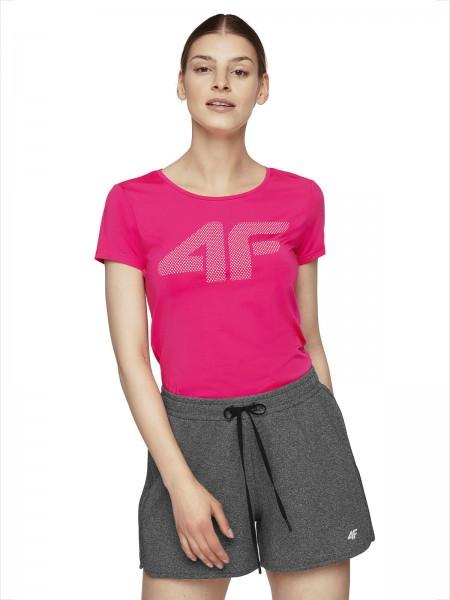 4F Damen Funktions-T-Shirt Theresa Pink
