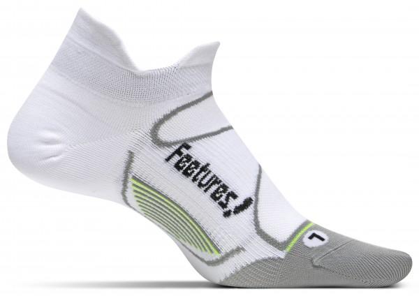 Feetures Elite UltraLightCushion - No Show Tab white/black