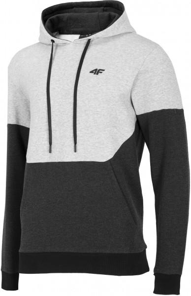 4F Herren Sweatshirt Ferdi Cold Light Grey Melange