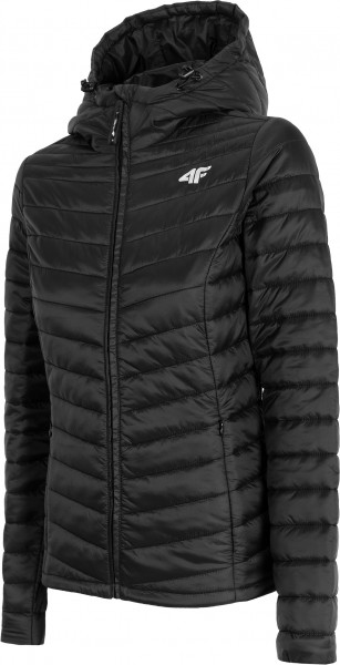 4F Damen Steppjacke Faizar Deep Black