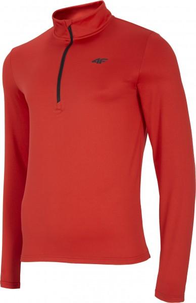 4F Herren Funktions Shirt Henry Red