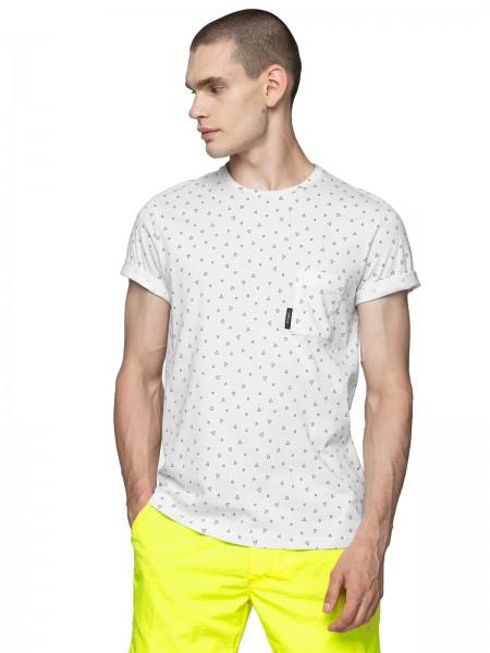 Outhorn Herren T-Shirt TSM638 White