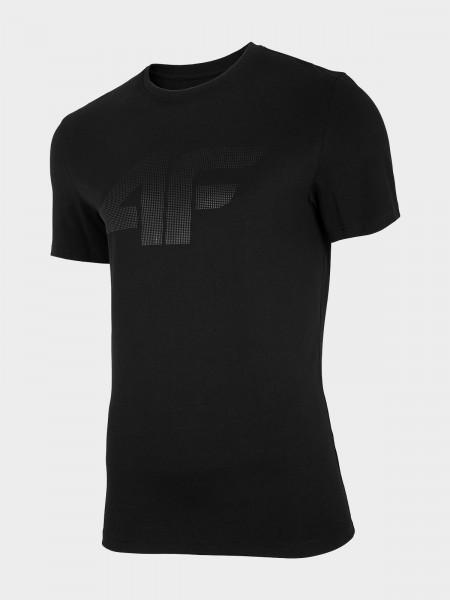 4F Herren T-Shirt Flemming Deep Black