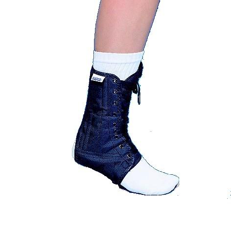 Mikros Fuß NVT schwarz Textil