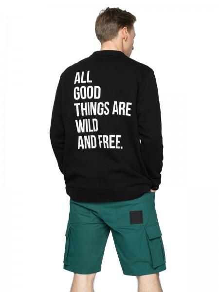 Outhorn Herren Sweatshirt BLM623 Deep Black