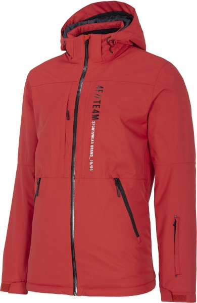 4F Herren Skijacke Harvey Dark Red