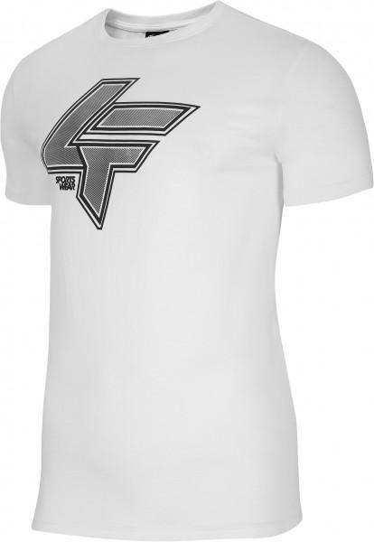 4F Herren T-Shirt Sean Off White