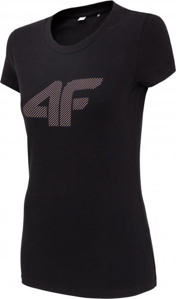 4F Damen T-Shirt Firat Deep Black