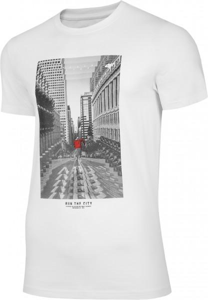 4F Herren T-Shirt Flavio White