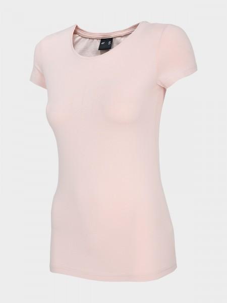 4F Damen T-Shirt Firat Light Pink