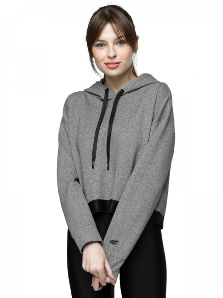 4F Damen Sweatshirt Sanaina Middle Grey Melange